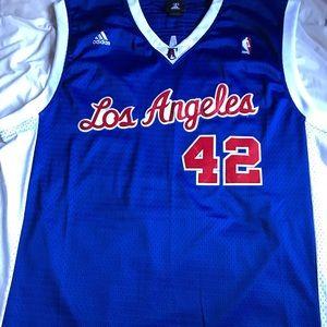 Elton Brand #42 LA Clippers XXL Adidas Jersey NWOT